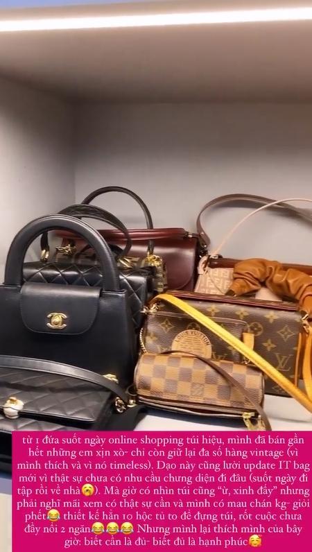 Tóc Tiên tiết lộ nguyên nhân bán gần hết bộ sưu tập túi hàng hiệu-1