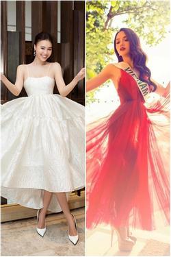 Lan Ngọc, Hòa Minzy cùng dàn hoa hậu thử tạo dáng pose 'tung cánh' của Hương Giang và cái kết