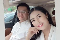 Hoa hậu Ngọc Hân đánh giá ngoại hình chồng sắp cưới