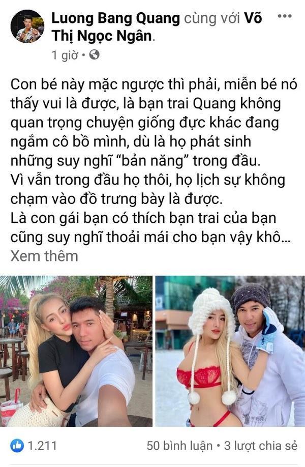 Ngân 98 liên tục lộ vòng 3 khi Lương Bằng Quang yêu cầu tạo dáng mặt dâm-4