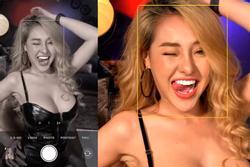 Ngân 98 liên tục lộ vòng 3 khi Lương Bằng Quang yêu cầu tạo dáng 'mặt dâm'