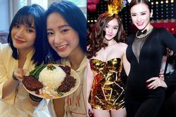 Lâu lắm mới xuất hiện cùng nhau, nhan sắc em gái 9X của Angela Phương Trinh gây chú ý