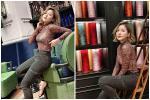 Hot girl Trâm Anh mặc kín cổng cao tường vẫn sexy, lại còn để lộ nội y sáng màu
