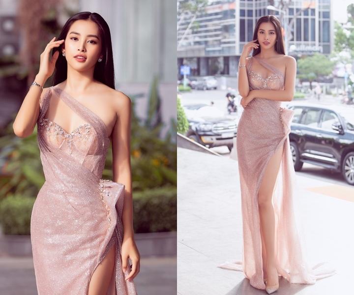 Tiểu Vy, Đỗ Mỹ Linh cùng dàn hậu khoe chân thon với đầm xẻ cao đẹp nhất tuần qua-9