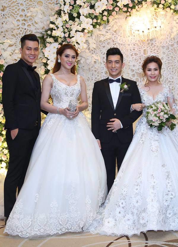 Lâm Khánh Chi - ngôi sao ăn mặc kém duyên nhất khi dự đám cưới của hội bạn thân-1