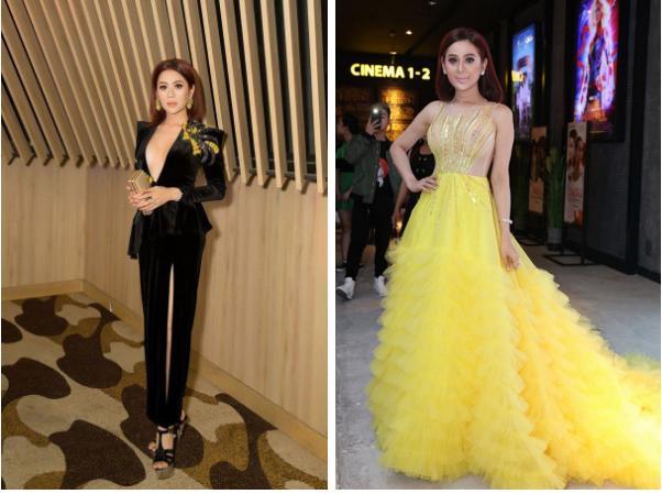 Lâm Khánh Chi - ngôi sao ăn mặc kém duyên nhất khi dự đám cưới của hội bạn thân-6