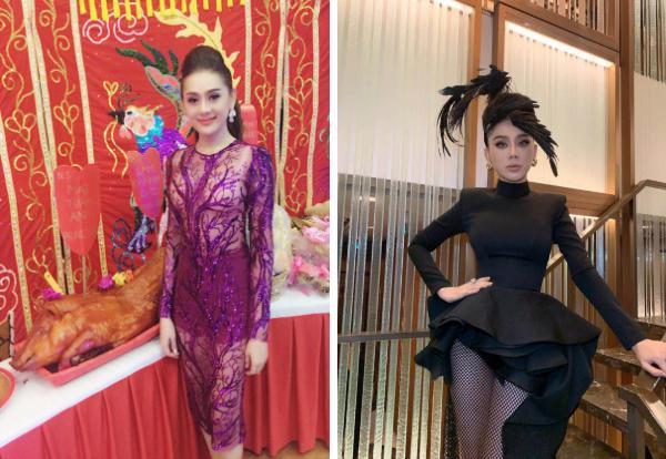 Lâm Khánh Chi - ngôi sao ăn mặc kém duyên nhất khi dự đám cưới của hội bạn thân-7