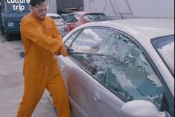 Trải nghiệm đập nát xe hơi ở Hà Lan