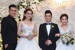 Lâm Khánh Chi - ngôi sao ăn mặc kém duyên nhất khi dự đám cưới của hội bạn thân