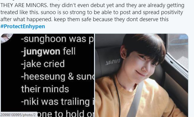 Xuất hiện fan cuồng khét tiếng theo chân ENHYPEN người hâm mộ kêu gọi công ty nhanh chóng bảo vệ-7