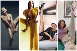 Bắt chước dáng pose xoạc chân của Victoria Beckham: Thu Minh phản cảm - Hà Hồ đỉnh cao