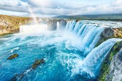 Vẻ đẹp hùng vĩ của thác nước ở Iceland