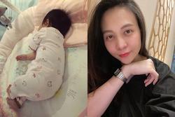 Đàm Thu Trang bị nhắc nhở bất cẩn trong việc chăm con