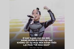 Câu rap của Tlinh viral khắp nơi nhờ cách chơi chữ 'về nhà nghỉ hay về nhà... nghỉ' bắt trend tốt, đúng là đang yêu MCK có khác!