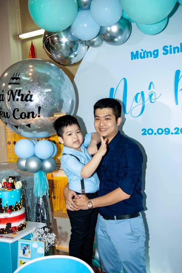 Chồng cũ Nhật Kim Anh đăng ảnh sinh nhật con trai, hình ảnh mẹ con nữ ca sĩ bỗng không cánh mà bay-4