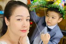 Chồng cũ Nhật Kim Anh đăng ảnh sinh nhật con trai, hình ảnh mẹ con nữ ca sĩ bỗng 'không cánh mà bay'