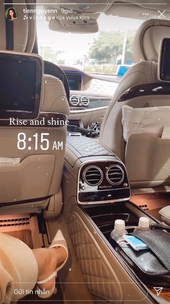 Cận cảnh siêu xe Maybach mà rich kid Tiên Nguyễn dùng làm phương tiện đi lại-3