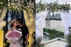 Con gái Minh Nhựa kỷ niệm 1 năm ngày cưới sau tiết lộ ông xã lạnh nhạt chuyện 'chăn gối'