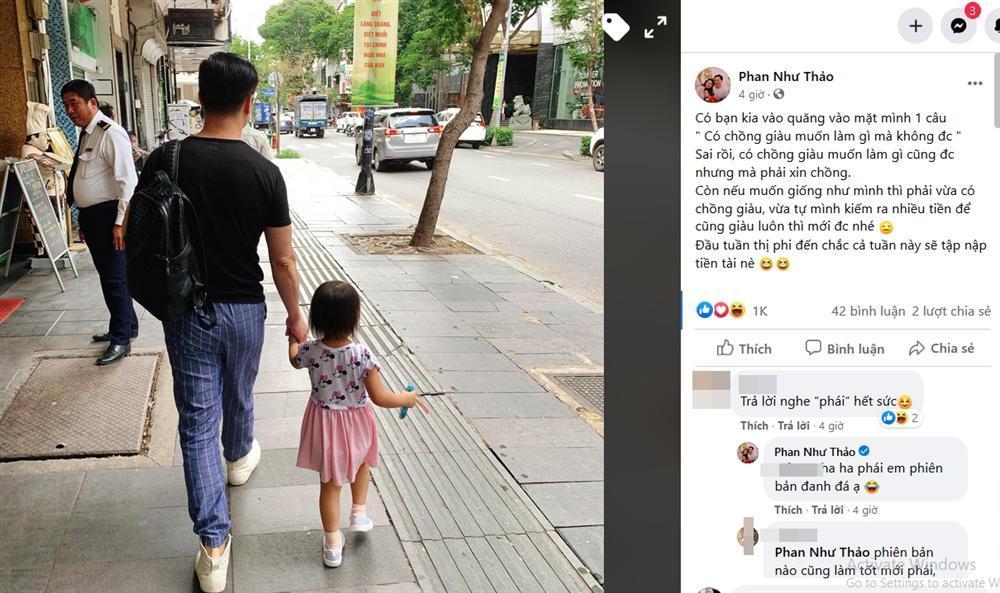Phan Như Thảo bị mỉa mai lấy chồng giàu làm gì mà không được-1