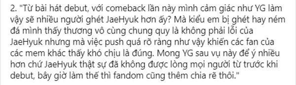TREASURE lại lên thớt khi Jaehyuk bị chỉ thẳng tên là hạt sạn của nhóm-3