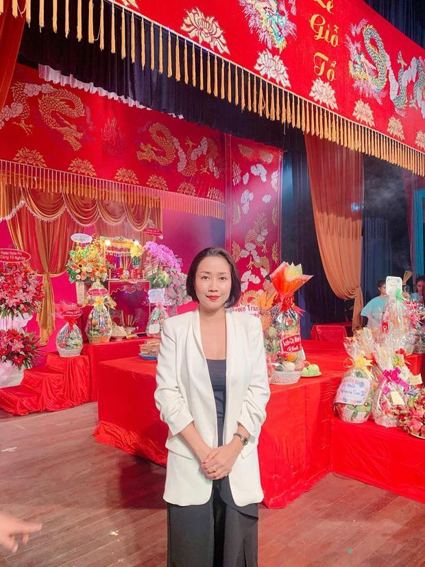 Sao Việt cúng Tổ nghề: Diệu Nhi mặc đầm sát nách - Phi Thanh Vân diện áo dài ren đỏ rực rỡ-6