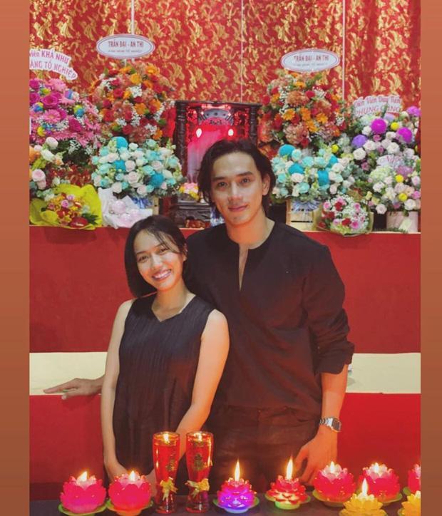Sao Việt cúng Tổ nghề: Diệu Nhi mặc đầm sát nách - Phi Thanh Vân diện áo dài ren đỏ rực rỡ-3
