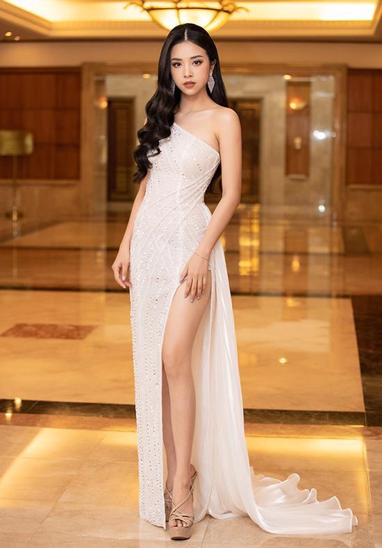 Tiểu Vy, Đỗ Mỹ Linh cùng dàn hậu khoe chân thon với đầm xẻ cao đẹp nhất tuần qua-4
