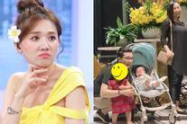 Mải sống ảo, em gái Trấn Thành bị chị dâu Hari Won nhắc nhở chuyện trông con