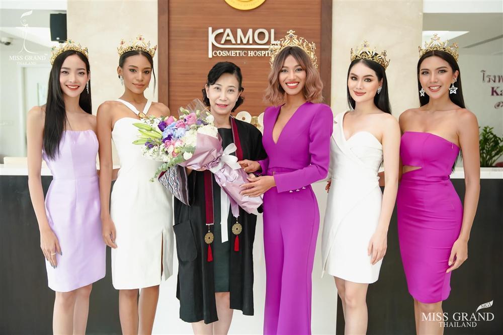 Nhan sắc tân Miss Grand Thailand 2020 nhìn giống y chang Diệu Nhi đội vương miện-1