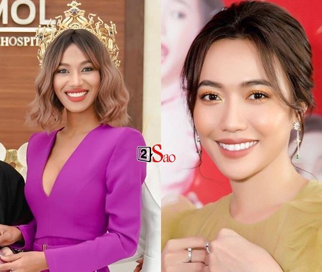 Nhan sắc tân Miss Grand Thailand 2020 nhìn giống y chang Diệu Nhi đội vương miện-2