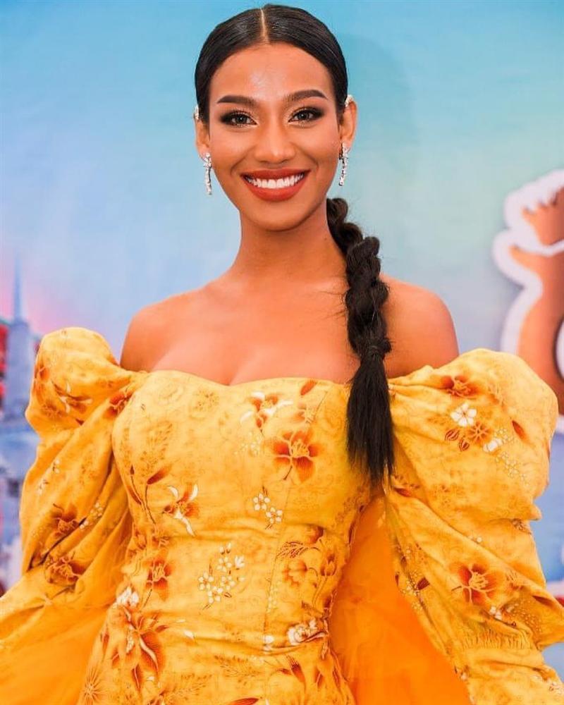 Nhan sắc tân Miss Grand Thailand 2020 nhìn giống y chang Diệu Nhi đội vương miện-7