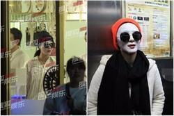 Phạm Băng Băng khiến người qua đường sợ hãi vì đắp mặt nạ đi shopping