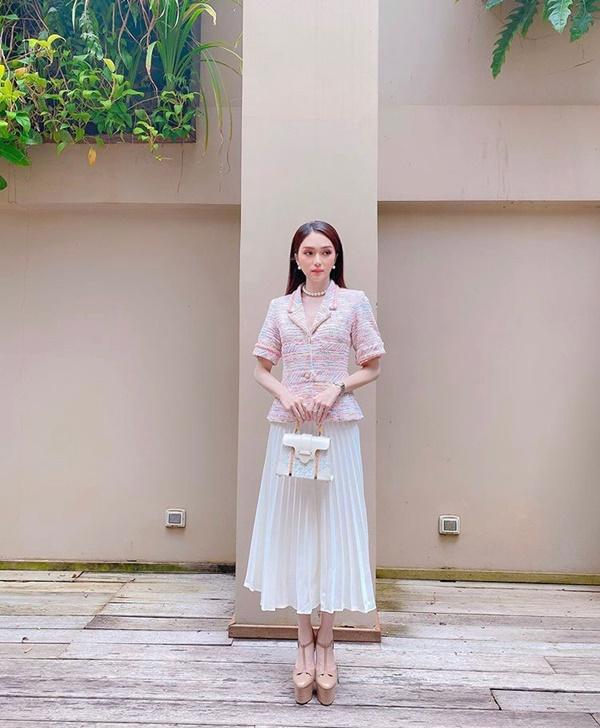 Chớm thu sao Việt diện vải tweed: Mỹ nhân đẹp chất lừ, nam nhân điệu chảy nước-1