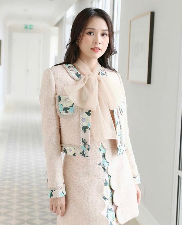Chớm thu sao Việt diện vải tweed: Mỹ nhân đẹp chất lừ, nam nhân điệu chảy nước-6