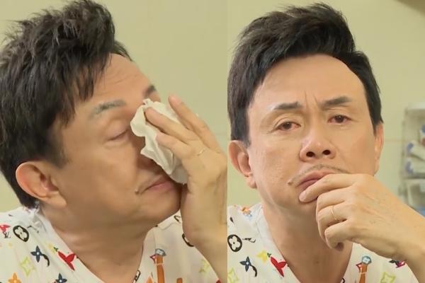 Chí Tài bật khóc khi phải xa vợ nửa năm-3