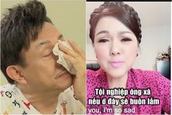 Chí Tài bật khóc khi phải xa vợ nửa năm