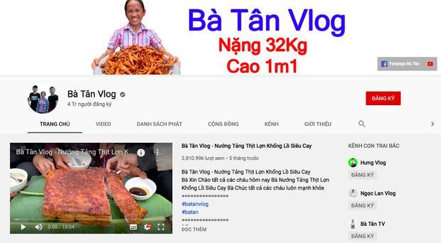 Chưa đầy 1,5 năm, bà Tân Vlog đạt 4 triệu lượt theo dõi, xác lập kỷ lục khủng-1