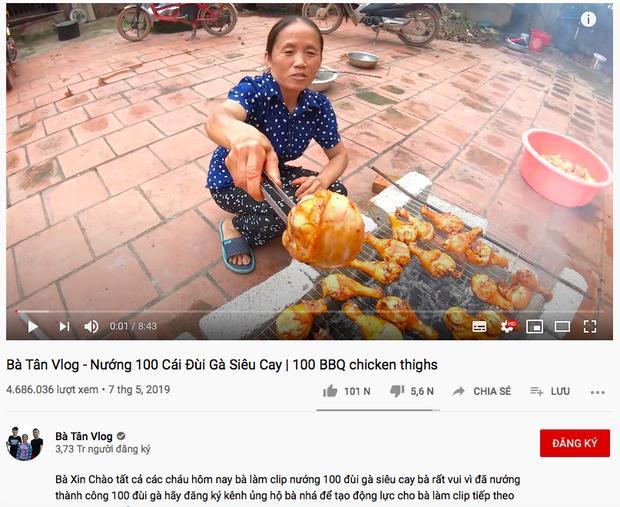Chưa đầy 1,5 năm, bà Tân Vlog đạt 4 triệu lượt theo dõi, xác lập kỷ lục khủng-2