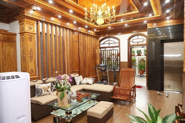 Bí ẩn chủ nhân căn biệt thự phủ gỗ từ đầu tới chân ở Hà Nội gây xôn xao-6