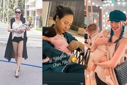 Loạt mỹ nhân Việt bị công khai nhắc nhở phải cẩn trọng khi chăm con 'bỉm sữa'