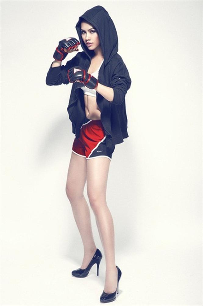 Hóa thành boxing girl: Ngọc Trinh, Thủy Top, Hà Hồ siêu ngầu, riêng Ngân 98 nude thô thiển-10
