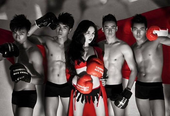Hóa thành boxing girl: Ngọc Trinh, Thủy Top, Hà Hồ siêu ngầu, riêng Ngân 98 nude thô thiển-8