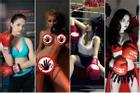 Hóa thành boxing girl: Ngọc Trinh, Thủy Top, Hà Hồ siêu ngầu, riêng Ngân 98 nude thô thiển