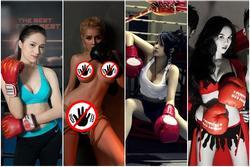 Hóa thành boxing girl: Ngọc Trinh, Thủy Top, Hà Hồ siêu ngầu, riêng mình Ngân 98 nude thô thiển