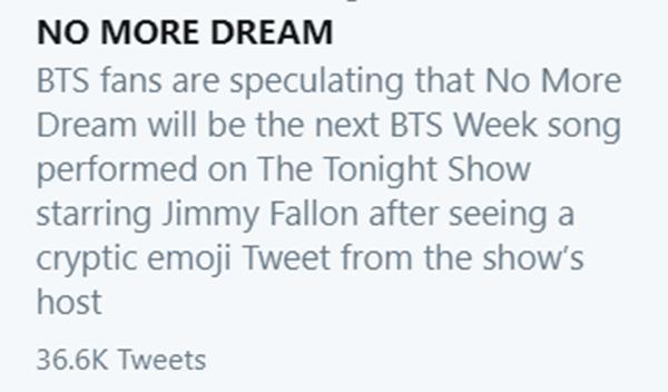 No More Dream BTS lọt top trending, fan ngửi thấy mùi mất máu đâu đây!-2