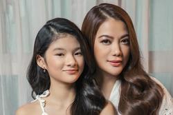 Con gái Trương Ngọc Ánh càng lớn càng ra dáng hoa hậu tương lai