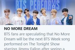 'No More Dream' BTS lọt top trending, fan ngửi thấy mùi 'mất máu' đâu đây!
