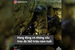 Vẻ đẹp hang động khô dài nhất châu Á ở Quảng Bình