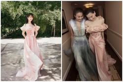 Dương Tử mặc váy giống Hồ Ngọc Hà