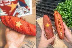 Món 'bánh mì yêu nước' độc nhất vô nhị ở Hà Nội khiến dân tình thi nhau thả like